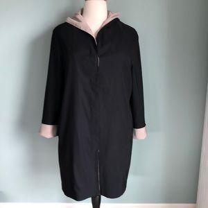 Jones New York raincoat with button-in liner XL